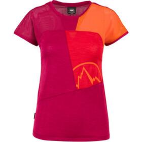 La Sportiva Push Camiseta Mujer, beet/garnet
